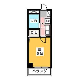 ライオンズマンション光ヶ丘第2[8階]の間取り