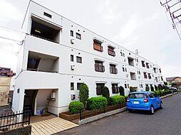 埼玉県富士見市羽沢2丁目の賃貸マンションの外観