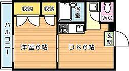 Kays roomsIInd(ケイズルームセカンド)[2階]の間取り