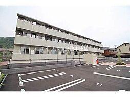岡山県倉敷市児島田の口2丁目の賃貸アパートの外観