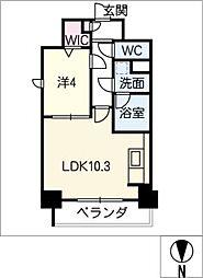 ルノンドーム A[3階]の間取り