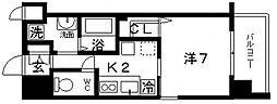 パークヒルズ玉造 カルミア[3階]の間取り