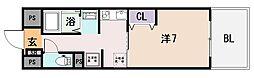 ラ・フォーレ久宝園[2階]の間取り