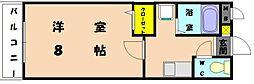 アトラクティブ香椎[1階]の間取り