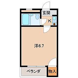 ラ・フォーレ黒田[5階]の間取り