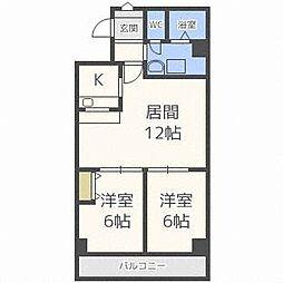第35松井ビル[7階]の間取り