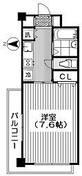 東京都新宿区西落合2丁目の賃貸マンションの間取り