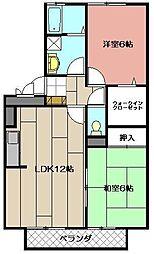 ポサーダ平田[305号室]の間取り