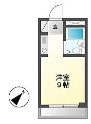 MARIYAハイツ(マリヤハイツ)[3階]の間取り