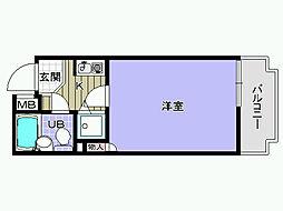 シャルマンフジ久米田五番館[103号室]の間取り