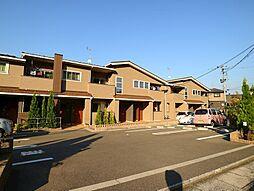 福岡県宗像市田久6丁目の賃貸アパートの外観