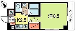 ロイヤルアロー東高円寺[2階]の間取り