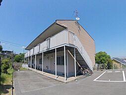 兵庫県西宮市上甲東園1丁目の賃貸アパートの外観
