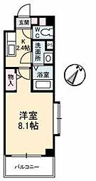 JRBハイツ湯田[A307号室]の間取り