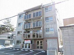 北海道札幌市西区発寒五条4丁目の賃貸マンションの外観