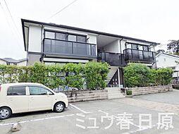 福岡県太宰府市坂本3丁目の賃貸アパートの外観