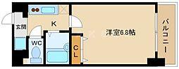 ルクレール今福[4階]の間取り