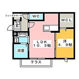 下地駅 5.9万円
