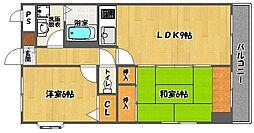 i・セレーノ[6階]の間取り