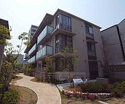 京都府京都市右京区西院寿町の賃貸マンションの外観