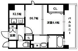 アドバンス新大阪V[13階]の間取り