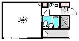 大阪府守口市金下町2の賃貸マンションの間取り