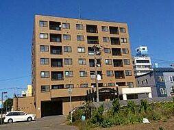 北海道札幌市東区北四十一条東14丁目の賃貸マンションの外観