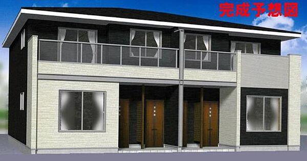 長野県千曲市大字上徳間の賃貸アパート