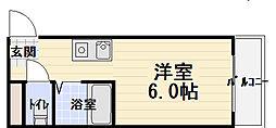 寺沢ビル[402号室]の間取り