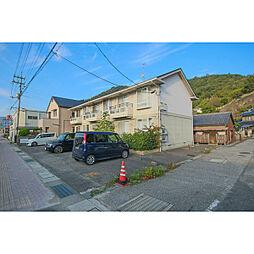 岡山県備前市西片上の賃貸アパートの外観