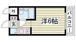 LM三宮[5階]の間取り