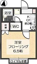 コージーハウス228F[206号室]の間取り