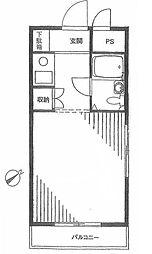 エストール椎名町[3階]の間取り