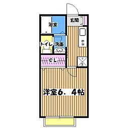 カンパーニュ[2階]の間取り
