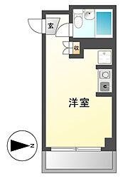 マンションAA[4階]の間取り