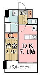 埼玉県草加市瀬崎2丁目の賃貸マンションの間取り