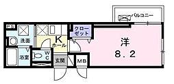 東京都大田区大森東4丁目の賃貸マンションの間取り