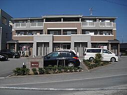三重県津市久居北口町の賃貸アパートの外観
