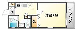 R1Court Senriyama[1階]の間取り