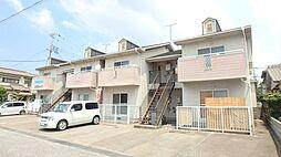 兵庫県加古川市別府町新野辺北町3丁目の賃貸アパートの外観
