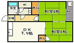 奥村マンション[101号室]の間取り