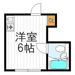 西田辺駅 1.7万円