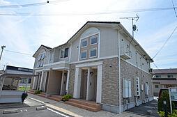 兵庫県たつの市龍野町日山の賃貸アパートの外観