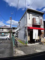 京都府京都市上京区幸神町の賃貸アパートの外観