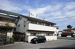 栃木県宇都宮市中戸祭1丁目の賃貸アパートの外観