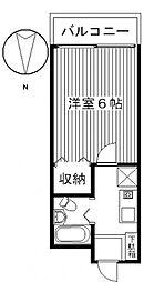 ジョイフル貝沢[2階]の間取り