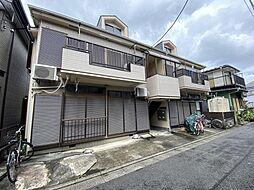 東京都練馬区東大泉2丁目の賃貸アパートの外観