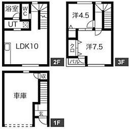 メゾン・ド・ケイ[2階]の間取り