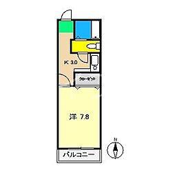 T&Sビル[3階]の間取り