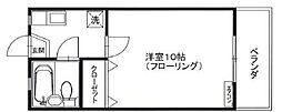 ファミーユフレール[2階]の間取り